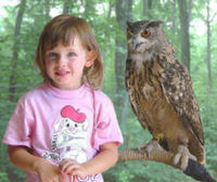 Hannah and the Harry Potter Owl